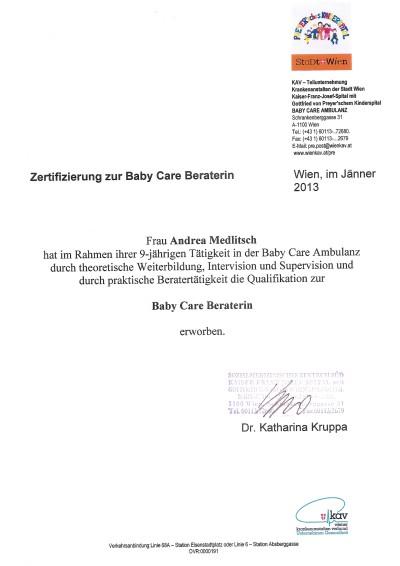 Babycare Beraterin